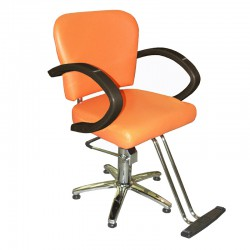 Kadeřnické křeslo ZD-300 oranžové