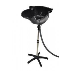 Kadeřnická mycí mísa přenosná BD-71 černá