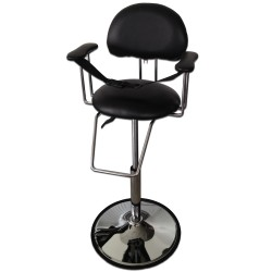 Dětská kadeřnická židle ZD 2100 černá