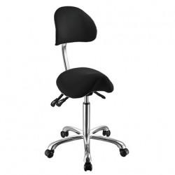 Židle kosmetická SELLA 3F černá