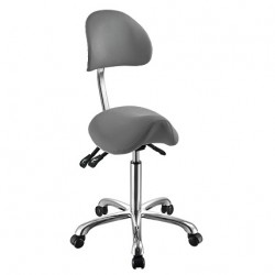 Židle kosmetická SELLA 3F šedá