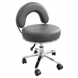 Židle kosmetická JENNY šedá
