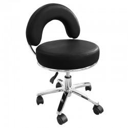 Židle kosmetická JENNY černá