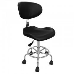 Židle kosmetická ZD-2106 černá