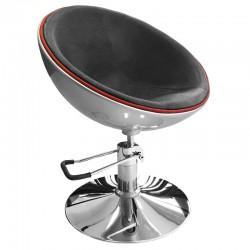Kadeřnická židle C1 stříbrná