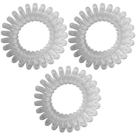 2c3b5211e30 Spirálové gumičky do vlasů průhledné - Hair Style